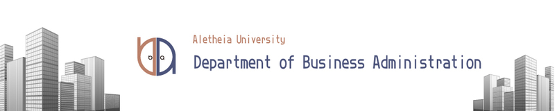 Department of Business Administration,AU(Open new window)